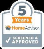 5 Years with HomeAdvisor